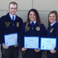 FFA students earn American FFA Degree