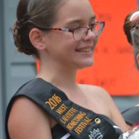 Alyna Weaver, the 11-year-old daughter of Charles and Shanna Weaver, is the 2016/2017 West Lafayette Homecoming Festival Junior Queen. Josie Sellers | Beacon