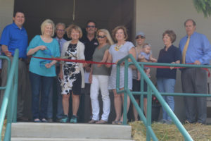 A ribbon cutting was held May 18 at the Lake Park Campgrounds new bathhouse. Work on the new facility was started in mid-January and all the finishing touches will be wrapped up for campers to enjoy during Memorial Day weekend.  Josie Sellers | Beacon