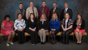 The Leadership Coshocton County Class of 2016 included: Front row - LaTasha Fralin; Mary Deeter, Coshocton County Dept. of Job & Family Services; Jandi Adams, Clary Gardens; Darcie Keirns, McWane Ductile; Stephanie Hawkins, Coshocton Juvenile/Probate Court; Jenny Strickler, The Ohio State University Extension; Darla Wagner, Coshocton County Career Center; back row - Nate Berry, Coshocton Juvenile Court; Joe Carter, McWane Ductile; Jed McCoy, Coshocton County Dept. of Job & Family Services; Matt Drummond, Prudential Insurance Co.; and Dave Harrison, Hilscher-Clarke Electric. Contributed | Beacon