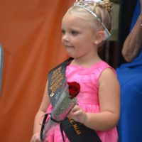 Eva Hill, the 4-year-old daughter of Jonathan and Courtney Hill, is the 2016/2017 West Lafayette Homecoming Festival Little Miss. Josie Sellers | Beacon