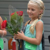 Alaena Huff, the 7-year-old daughter of Ed and Michelle Huff, is the 2016/2017 West Lafayette Homecoming Festival Mini Queen. Josie Sellers | Beacon