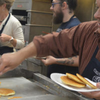 Pancake day helps Kiwanis Club fulfill mission