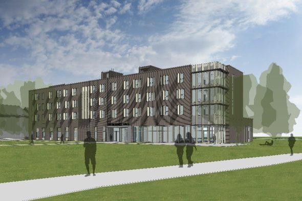 residence hall 2