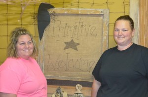 Business: Kendra Parsons and Stephanie Adams are excited to be moving their store, The Rusty Olde Crow, to 733 Cambridge Road. Beacon photo by Josie Sellers