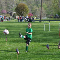 Elks invite children to soccer shoot