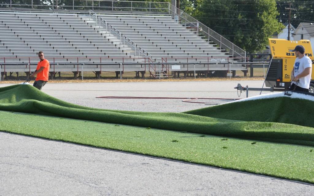 stewart field artificial turf