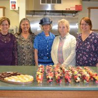 Women of Witness hold mother daughter tea