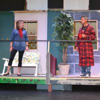 Footlight Players present 'Here on the Flight Path'