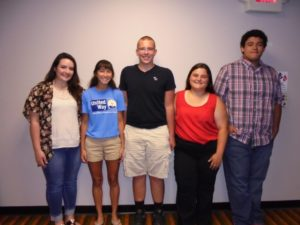 The United Way of Coshocton Board of Control voted to create a student advisory committee formed from all four of the county schools. The group includes, from left: Macy Parks, B Yonley, Nick Tahyi, Tara Brush and Caleb Bowman and missing from the picture are Colleen Schwartz and Katie Lietz. Contributed   Beacon