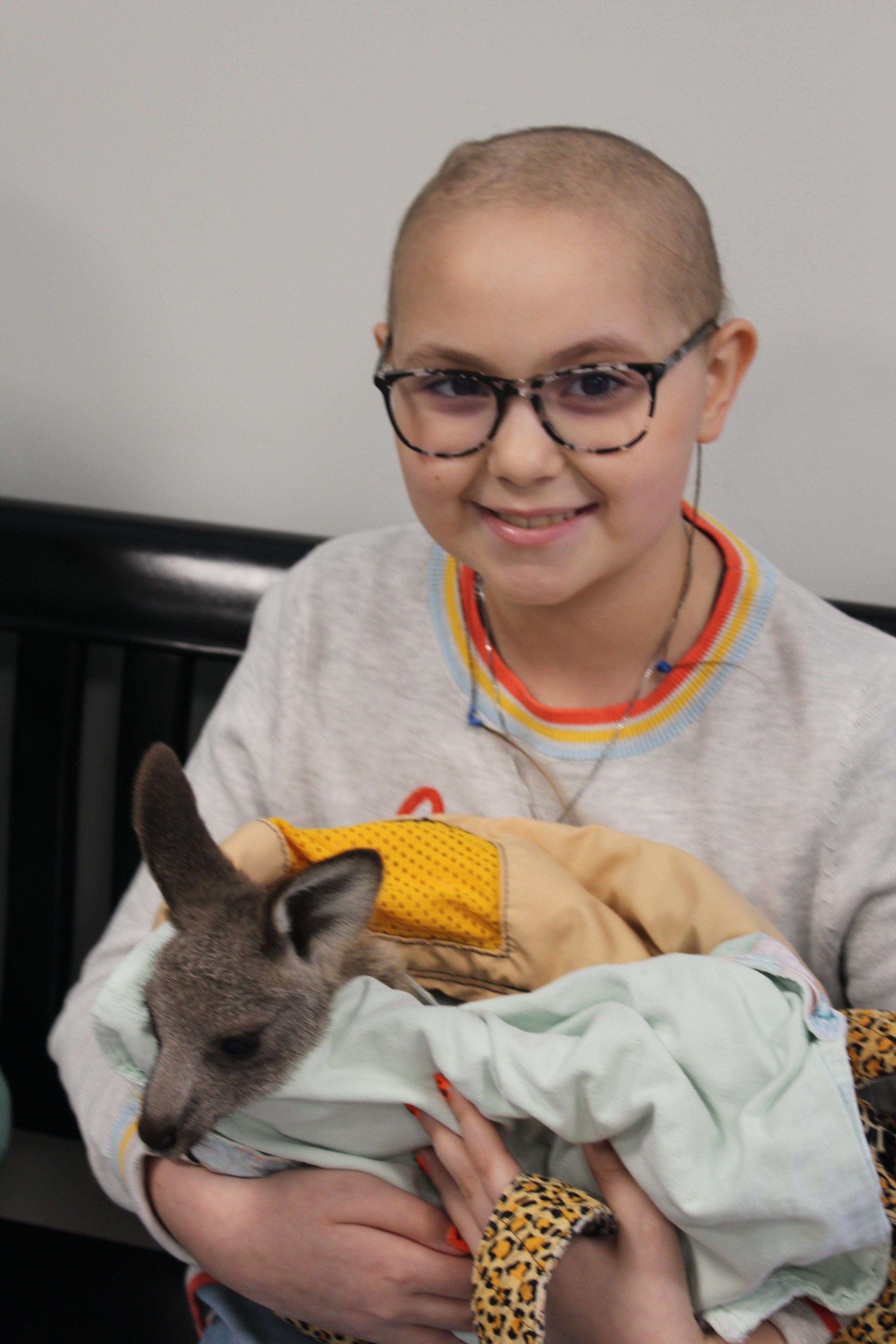 zoo baby kangaroo Oct 2019